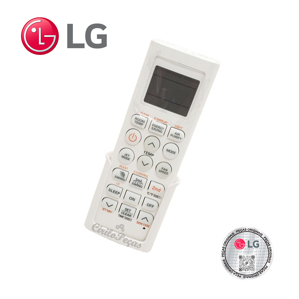 Controle Remoto Lg AKB74375403 Modelo ASNQ122B4A0