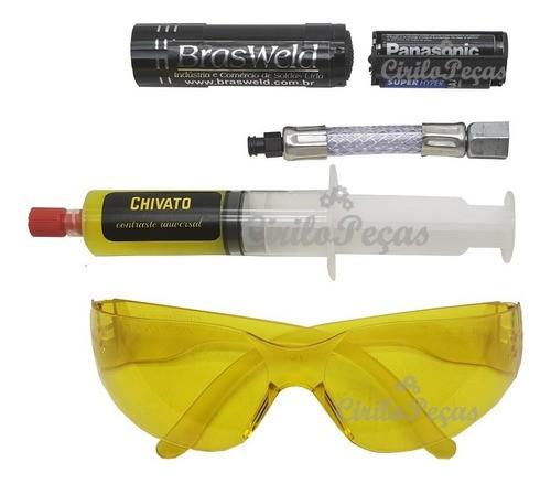 Detector De Vazamento Fluido refrigerante Ultravioleta