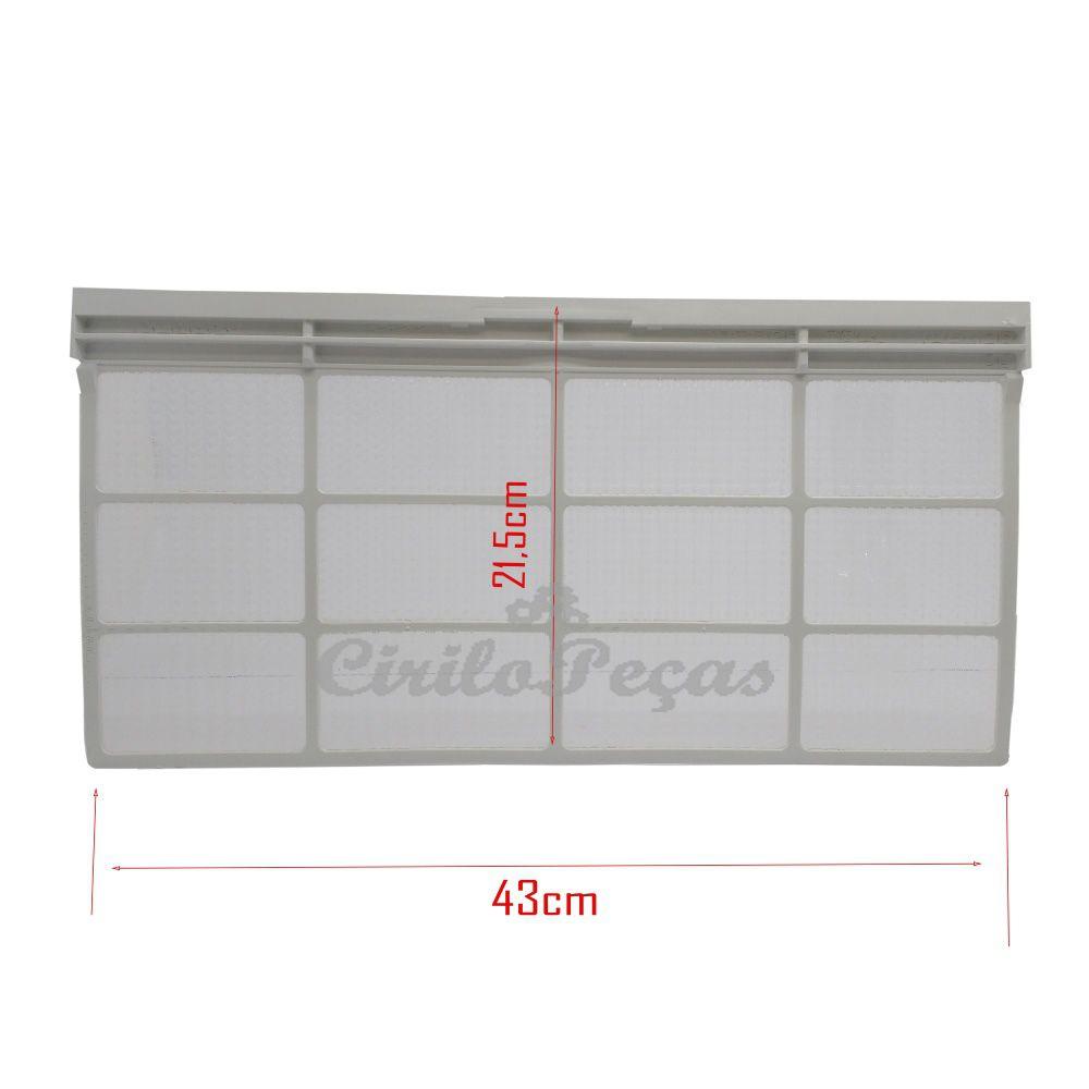 Filtro Ar Condicionado Piso Teto Carrier 60.000 Pequeno
