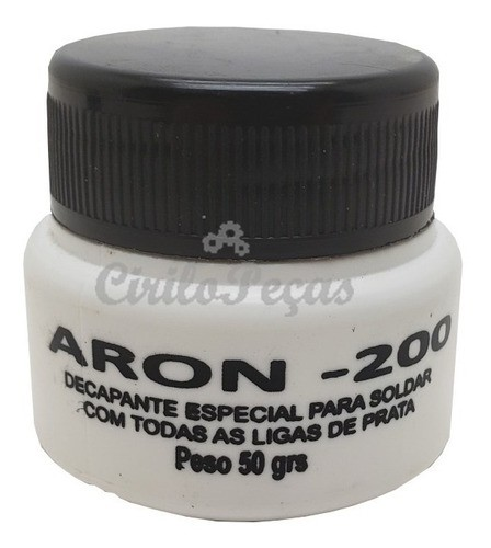 Fluxo Pasta Solda Aron 200 50gr Bw