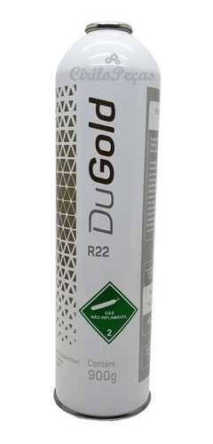 Fluido Refrigerante R22  900g Dugold
