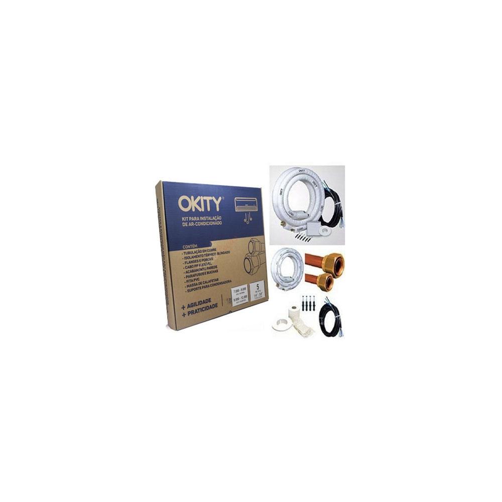 Kit Instalação Ar Split Inverter 7/9/12000 5mts