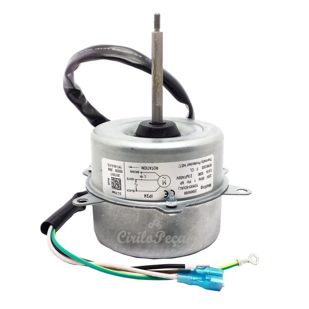 Motor Ventilador Condensadora Carrier Springer 18.000 À 30.000 Btus