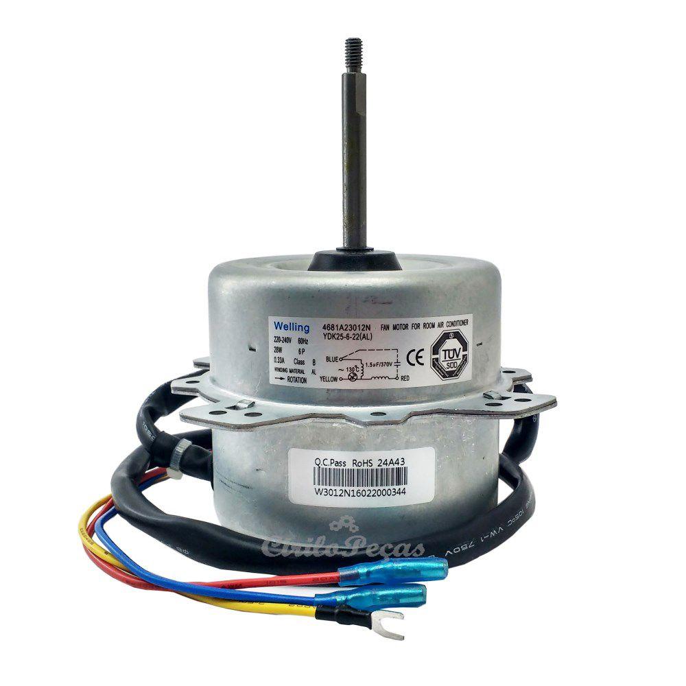 Motor Ventilador Condensadora Lg 9/12.000 Btus (4681a23012n)