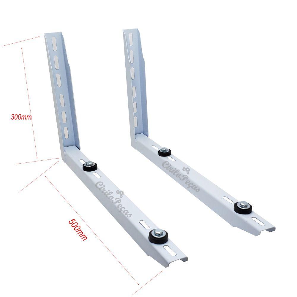 Suporte Metálico condensadora 300mm x 500mm