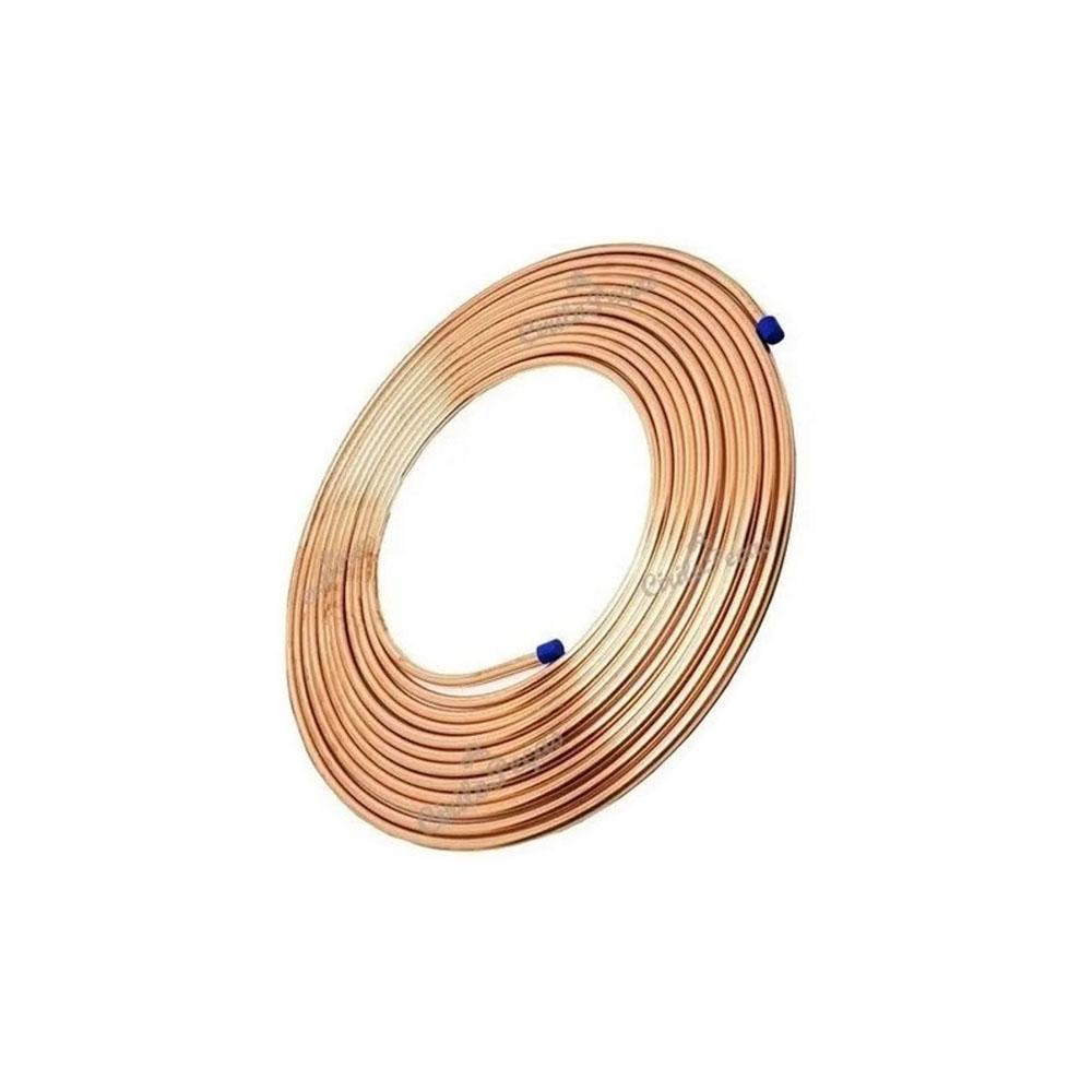 Tubo Cobre Flexível 1/4 6,35mm C/1Metro