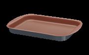 Assadeira Rasa Alumínio 28 Cm Bakery Cinza Tramontina