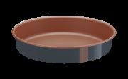 Assadeira Redonda Alumínio 26 Cm Bakery Cinza Tramontina