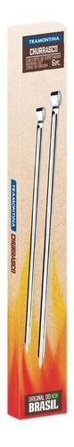 5 Conjuntos de Espetinhos Tramontina em Aço Inox 20 cm