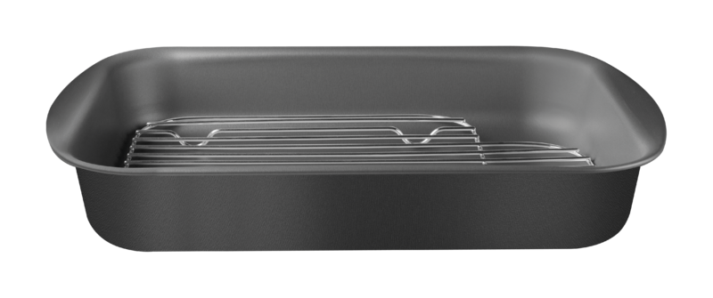 Assadeira C/ Grelha Alumínio 34 Cm Tramontina
