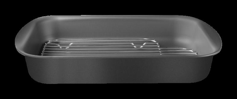 Assadeira C/ Grelha Alumínio 40 Cm Tramontina