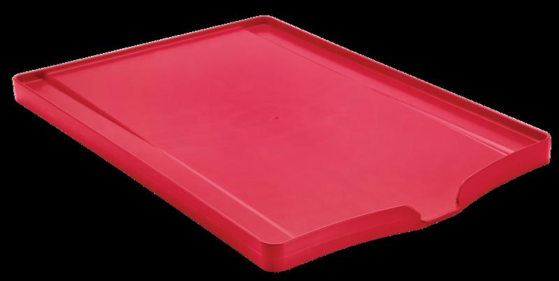 Bandeja P/ Louca Polipropileno Vermelho Plurale Tramontina
