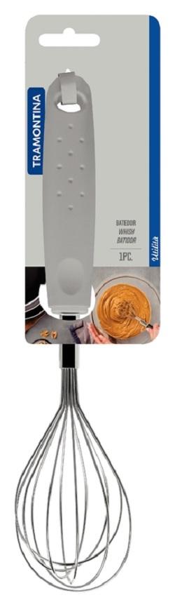 Batedor Manual Inox Utilita