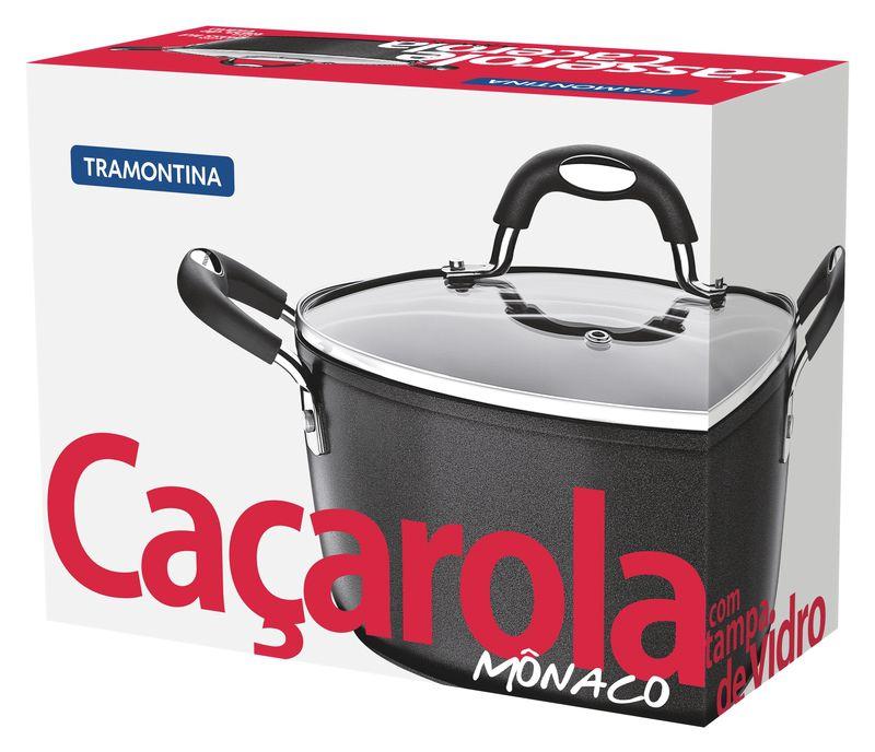Cacarola Alumínio 22 Cm Monaco Tramontina