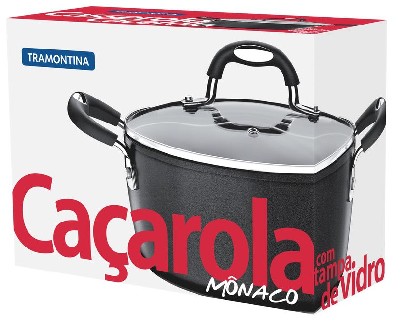 Cacarola Aluminio 20 Cm Monaco Tramontina
