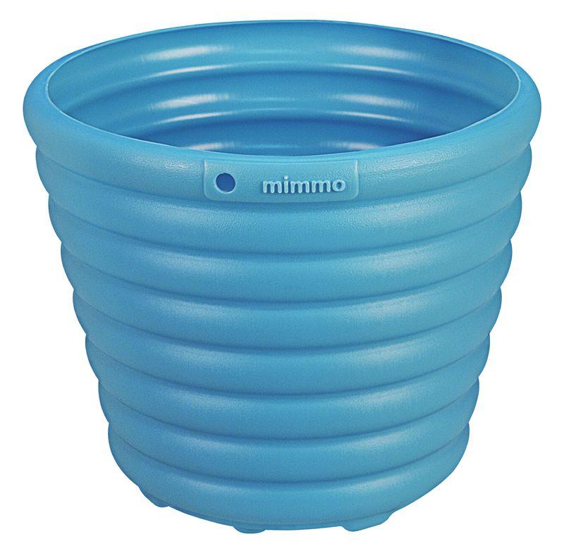 Cachepo/Vaso Tramontina P/ Flores Azul 1,7 Litros