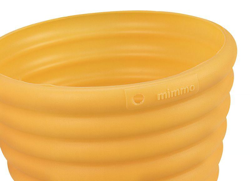 Cachepo/Vaso Tramontina Para Flores Amarelo - 5,5 Litros