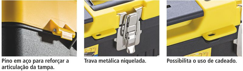 "Caixa Plastica Injetada 13"" - Tramontina"