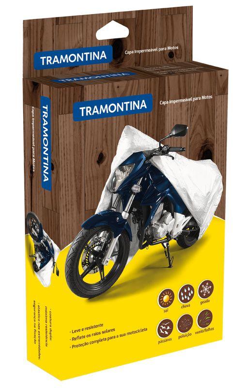 Capa Impermeavel P/ Moto Tam. P Tramontina