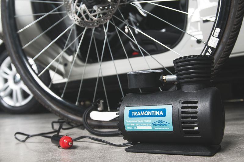 Compressor Ar Portatil 12V - 50W Tramontina
