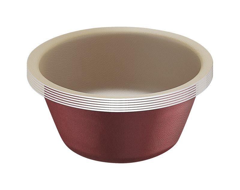 Conj. Formas P/ Cupcake 6 Pçs Alumínio Tramontina