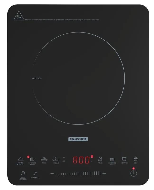 Cooktop Portátil por Indução Tramontina Slim Touch