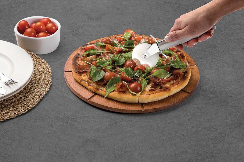 Cortador Aço Inox Para Pizza Marffim Tramontina