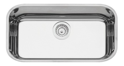 Cuba Embutir Tramontina Lavínia Aço Inox Alto Brilho 56x34cm