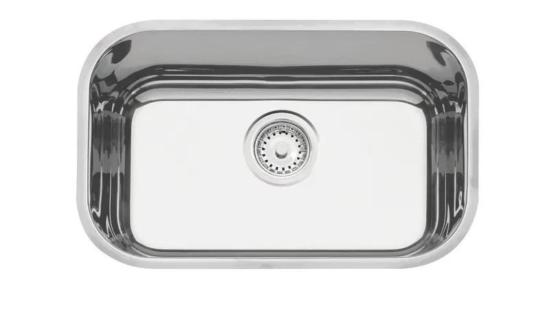 Cuba Embutir Tramontina Lavínia em Aço Inox Polido 47x30 cm