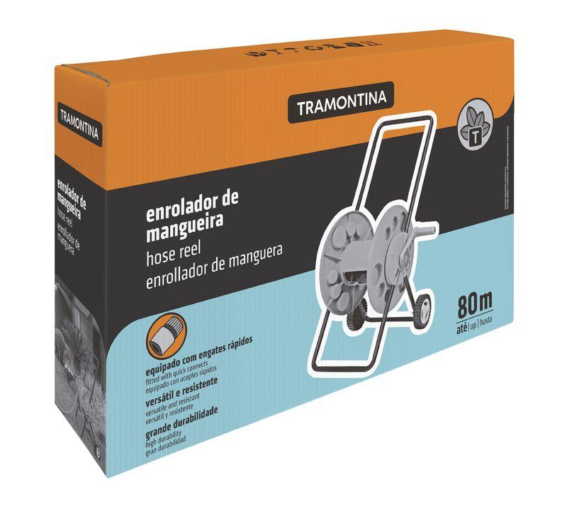 Enrolador Mangueira C/ Rodinhas P/ Jardim Tramontina