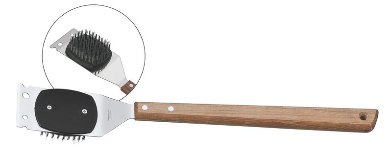 Escova para Grelhas 41,6 cm Tramontina em Aço Inox