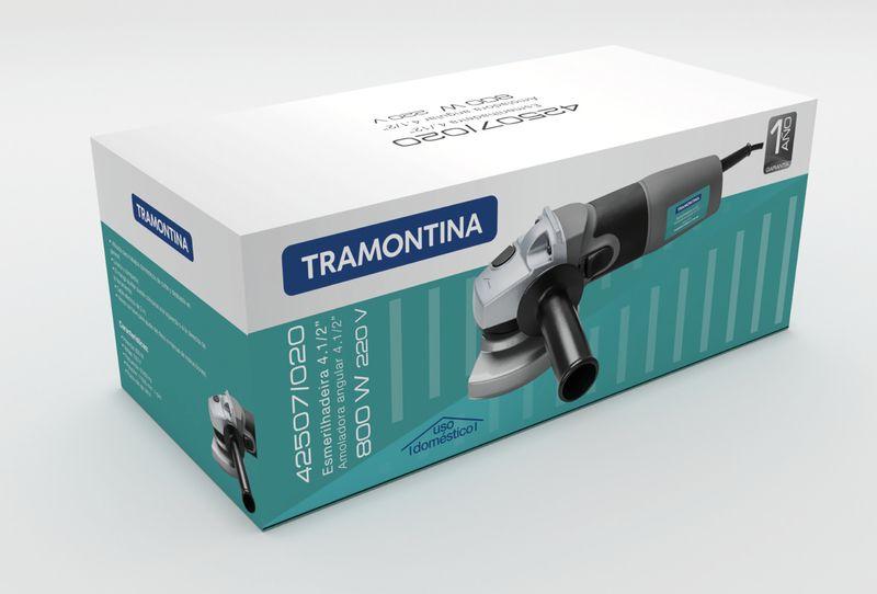 Esmerilhadeira Elétrica 800w 4.1/2 - 220 V Tramontina