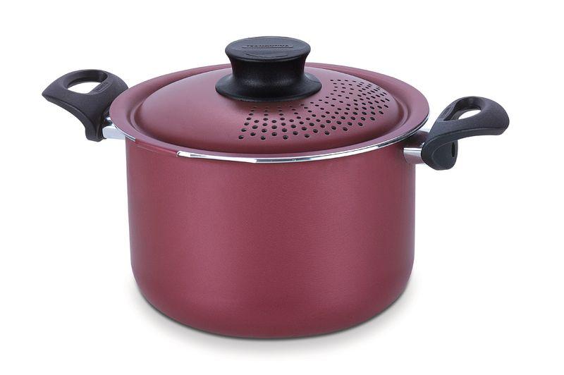Espagueteira Alumíno Vermelho 20 Cm Tramontina