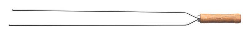Espeto Duplo Inox para Churrasco 65 cm Tramontina