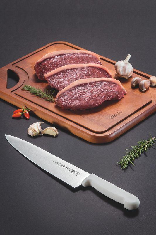 "Faca Carne Inox 8"" Profissional Tramontina"