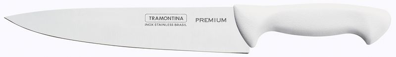 """Faca Utility Premium Branca 8"""" Tramontina"""