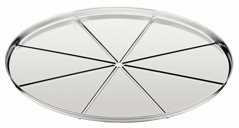Forma Aço Inox Com Vincos Para Pizza Tramontina