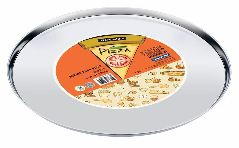 Forma Aço Inox Para Pizza Tramontina