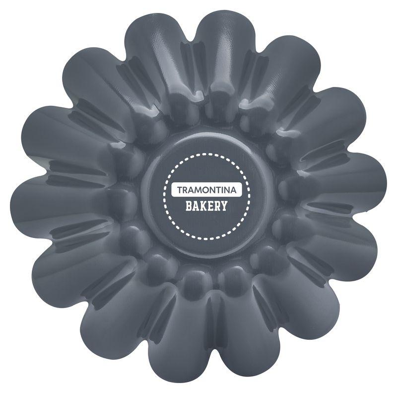Forma Para Brioche Alumínio 22 Cm Bakery Cinza Tramontina