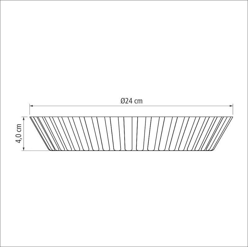 Forma Para Torta e Bolo Alumínio 24 Cm Tramontina