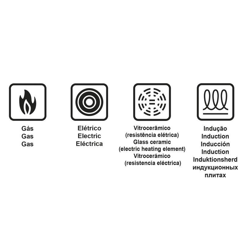 Frigideira Profissional Alumínio 24 Cm Indução Tramontina