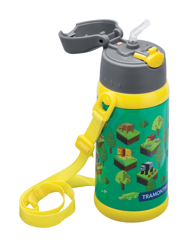 Garrafa Térmica Infantil Tramontina Gaming 500 ml