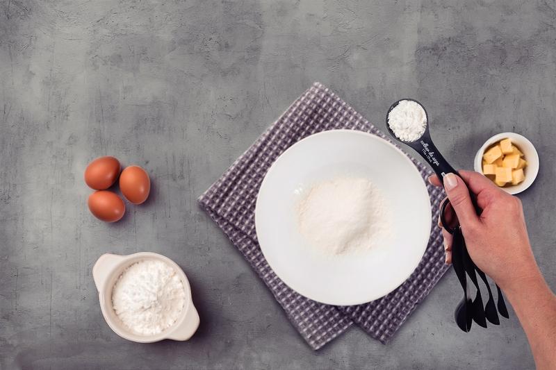Jogo Medidores Colher Bakery Cinza Tramontina
