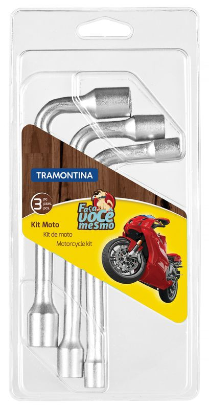 Jogo Para Moto 3 Peças Tramontina
