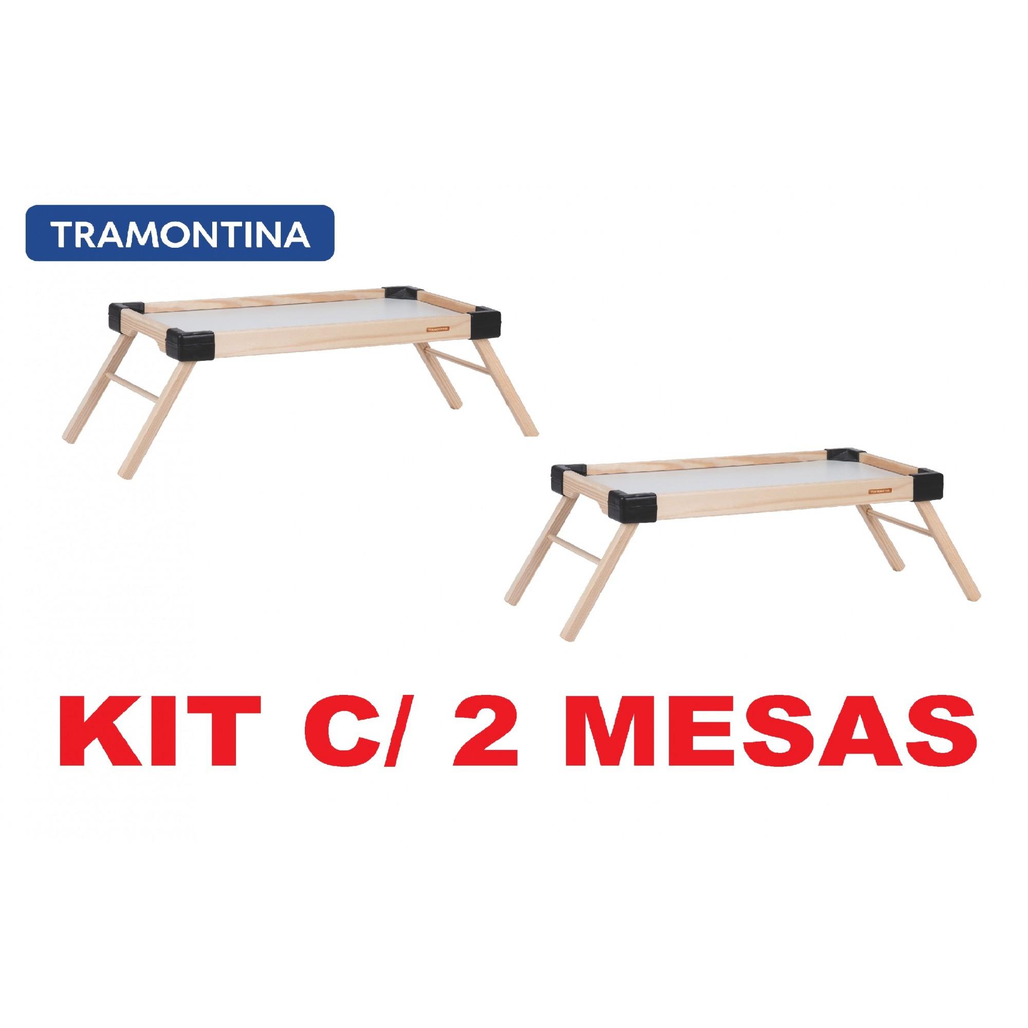 Kit 2 Bandejas de Servir Café na Cama Tramontina