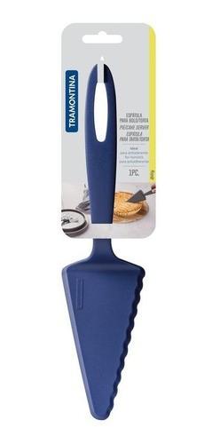 Kit 2 Pçs Ability Concha + Espátula para Bolo Azul