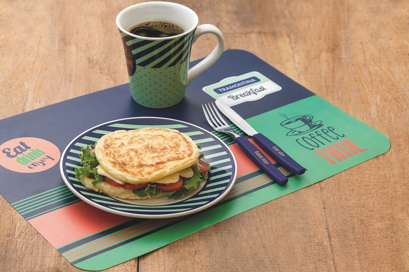 Kit Café Da Manhã 16 Peças Breakfast Tramontina