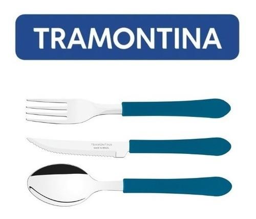 Kit Com 30 Talheres Tramontina Facas + Garfos + Colheres