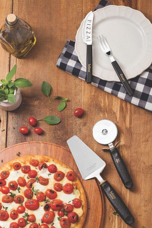 Kit Pizza Inox 15 Peças My Lovely Tramontina