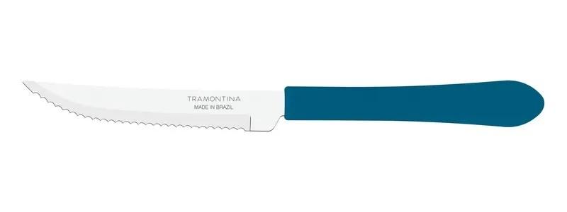 Kit Restaurante 100 Talheres Leme Azul c/ Garfo de Sobremesa